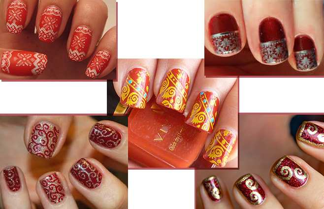 Nail Art Designs - 17 Cool Nail Art Designs For The Indian Bride