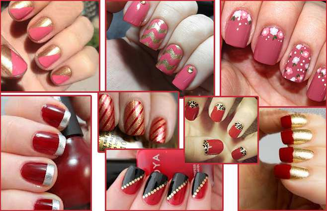 Wedding nail art designs for indian bride images photos ideas 1bold partywear0 7 prinsesfo Images