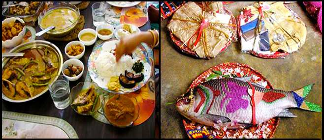 Image result for bengali Wedding Ritual: The Final Send Off Feast for the Bride and Groom