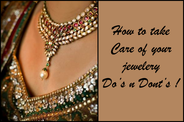 5 Excellent Tips To Take Care Of Your Bridal Jewelry ...