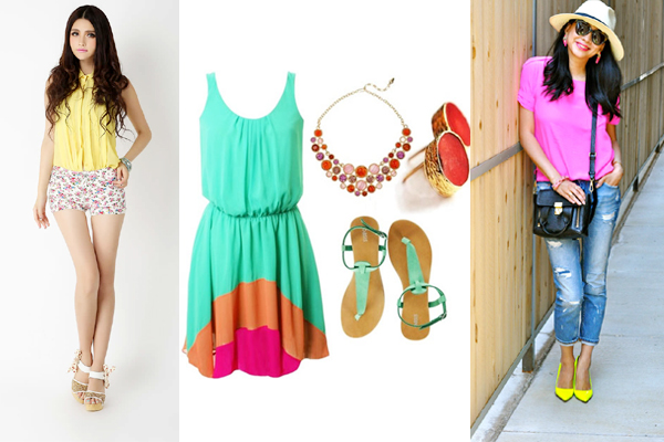 Most Trendy Colorful Dresses