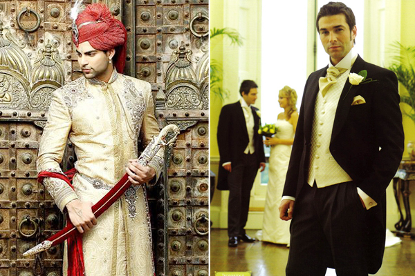 Indian Wedding Accessories For Groom, Traditional Western