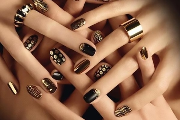 Wedding Nail Art Designs For The Bride - Wedding Nail Art Designs For Indian Bride, Images, Photos, Ideas