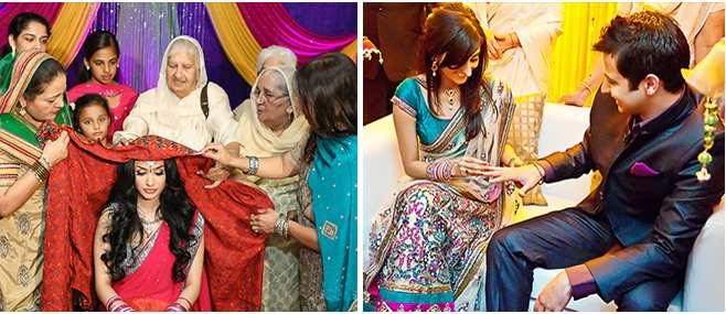 Punjabi wedding rituals traditions and customs weddingplz