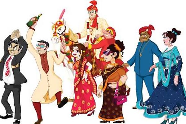 The 8 Funny Characters In Every Indian Wedding Weddingplz