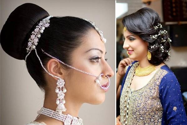 Indian Bridal Bun Hairstyles Weddingplz