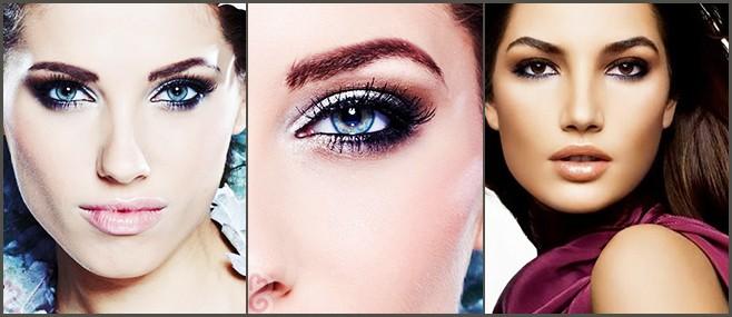 Deep-set Eyes makeup.weddingplz