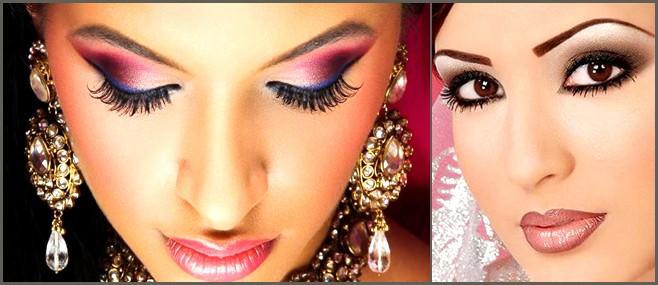 Mono-lid shape eye makeup.weddingplz