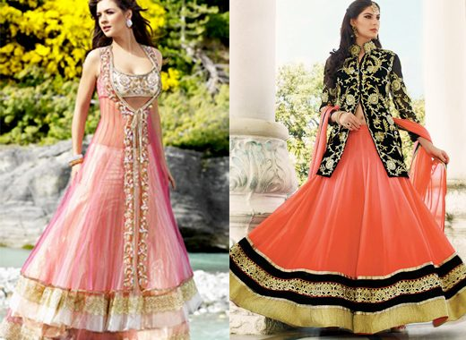 Jacket Lehenga.weddingplz