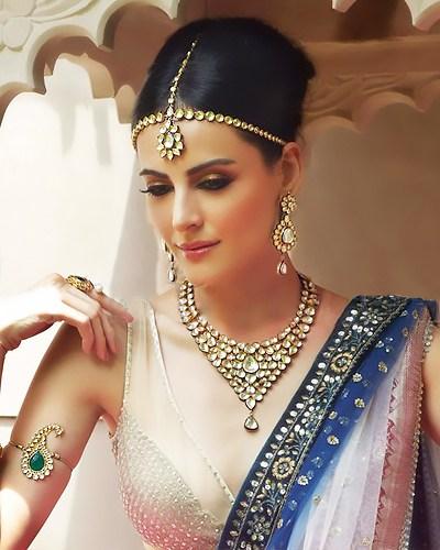 kundan jewelry.weddingplz