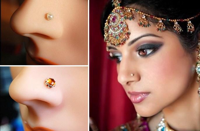 The Nosy Affair Bridal Nose Pins Designs Of 13