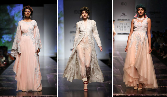 Old fashioned romantic dresses from india