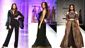 aditi malaika shetty at amazon fashion week