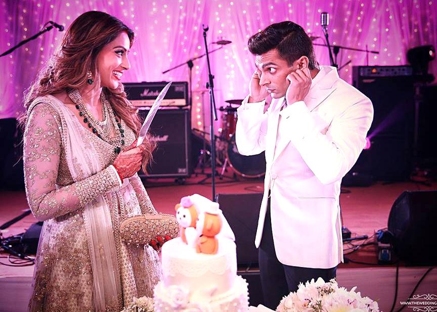 Cake Images Karan : Bipasha Basu And Karan Singh Grover s Wedding Weddingplz
