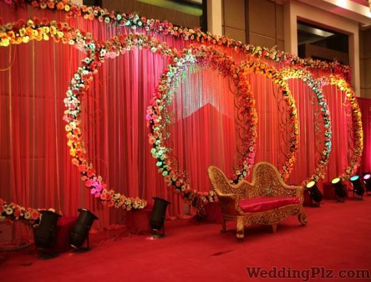 Wedding decoration in new model town new model town wedding goldy flower decoration junglespirit Images