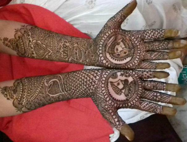 Bridal Mehndi : Bridal mehndi in yelahanka weddingplz