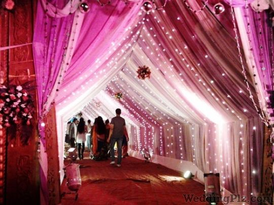 Decoration and lighting in new model town new model town decoration batra tent house junglespirit Gallery