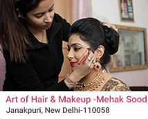 Art of Hair and Makeup By Mehak Sood